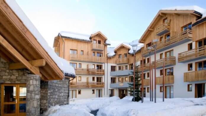 Wintersport – Les Orres – La Forêt d'Or – Les Orres