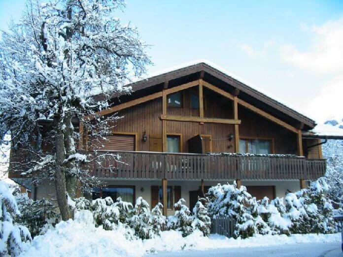 Chalet-appartement Les Tavillons: wintersport chalet in Morzine voor 10 personen