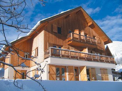 Résidence Goélia Les Marmottes: chalet-appartementen in Saint Jean d'Arves