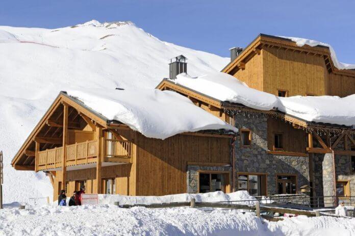 4* CGH Chalet-appartement Le Jhana: appartementen aan de piste in Tignes Val-Claret voor 6 – 8 personen