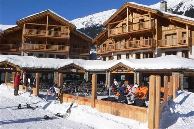 Chalet-appartement Le Critérium: appartementen aan de piste in Val Cenis