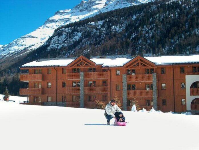 Wintersport Val Cenis: Chalet-appartement Les Balcons de Val Cenis Le Haut