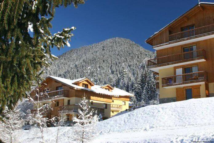 Wintersport Valfréjus – Les Chalets d'Arrondaz: appartementen aan de piste in Valfréjus