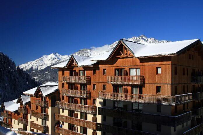 Le Cheval Blanc in Valfréjus: appartementen met zwembad in Valfrejus
