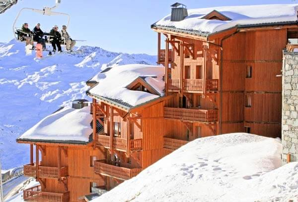 Wintersport – Val Thorens – Appartementen Les Balcons de Val Thorens en Spa