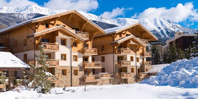 Wintersport – Serre Chevalier – Chalet-appartement le Hameau du Rocher Blanc (LaGrange Prestige)