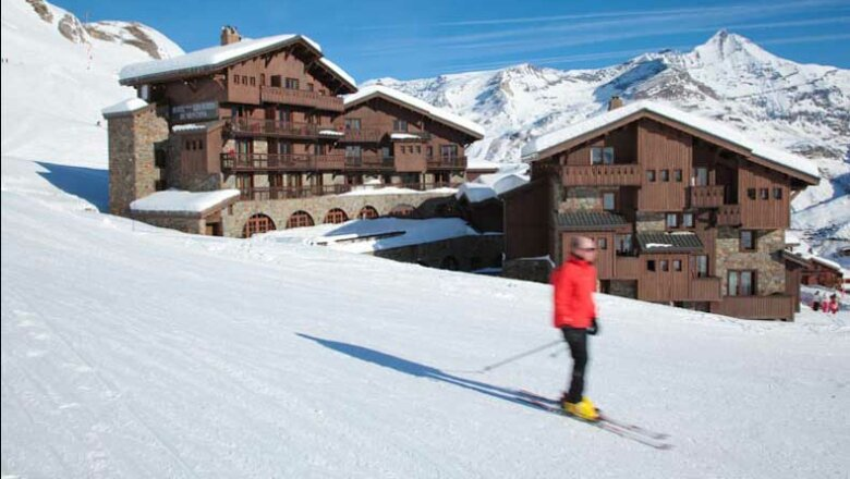 5* Hotel Les Suites du Montana: Luxe wintersport hotel aan de piste in Tignes Le Lac