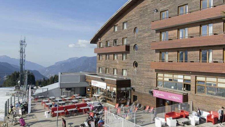 Hotel Le Viking: hotel op de piste in Morzine