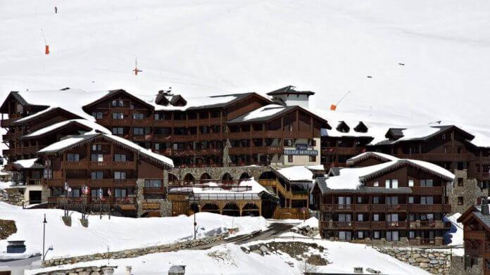 Hotel Village Montana: 4 * hotel met zwembad en wellness aan de piste in Tignes
