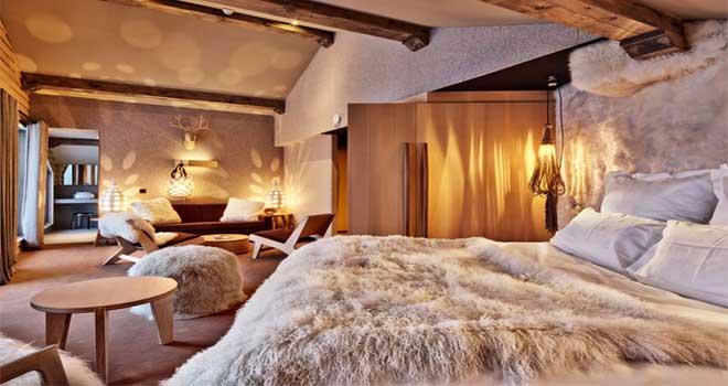 Kamer hotel Altapura in Val Thorens