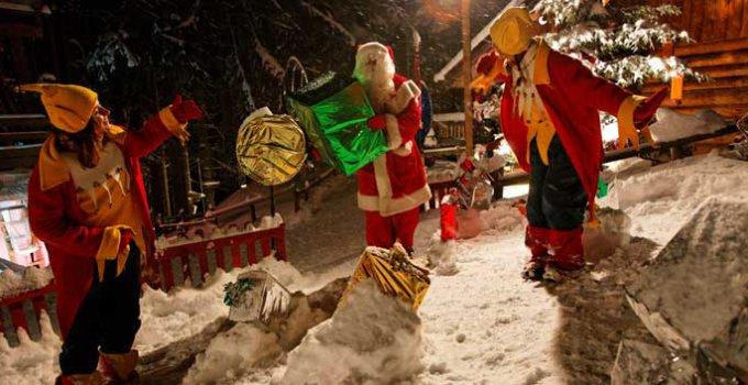 In de kerstvakantie op wintersport in Frankrijk bij de kerstman in Les Gets