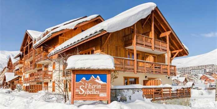 Wintersport La Toussuire: Chalet-appartement L'Ecrin des Sybelles