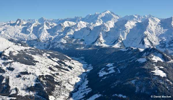 La Clusaz Arravis Mont Blanc