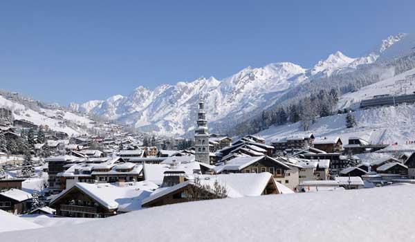 La Clusaz dorp