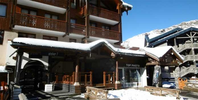Résidence Le Diamant: appartementen aan de piste in het centrum van Val Thorens