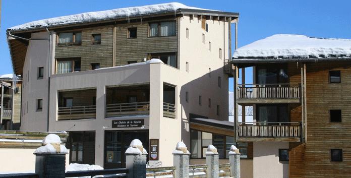 Wintersport La Norma – appartementen in Résidence Les Chalets & Les Balcons de la Vanoise