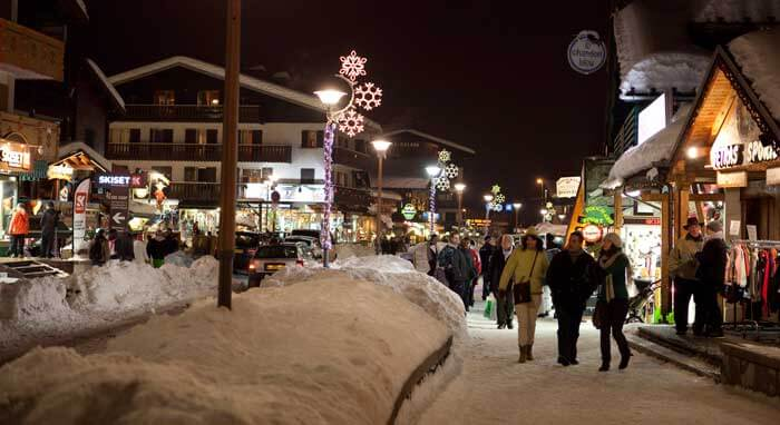Après-ski in Les Gets © OT Les Gets/N. Joly