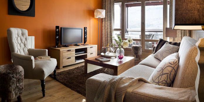 Appartement in Les Terrasses d'Hélios in Flaine. © Pierre et Vacances.