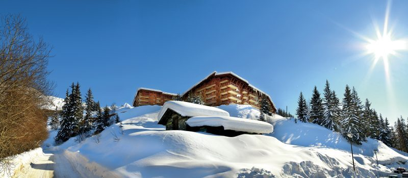 Wintersport in Arc 1800: 4 sterren appartementen Les Alpages de Chantel & Spa