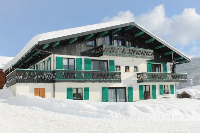 Wintersport – Les Gets – Chalet-appartement Fleur des Alpes