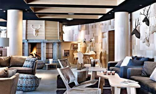 lounge hotel Altapura in Val thorens