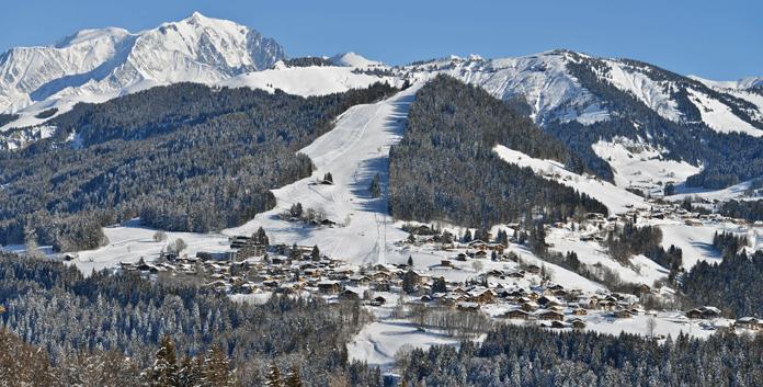 Skiën in Val d'Arly: Espace Diamant en Les Portes du Mont Blanc