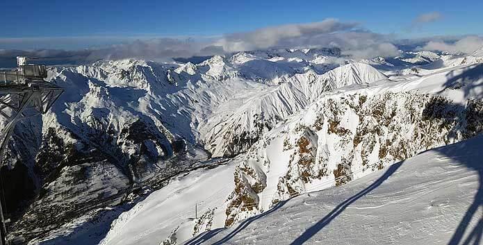 Uitzicht vanaf de Dome des Rousses © WintersportFrankrijkGids.nl