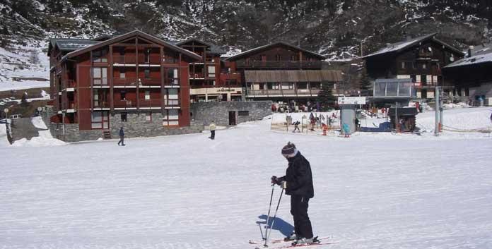 Wintersport aan de piste in Val Cenis: appartementen Pied Des Pistes