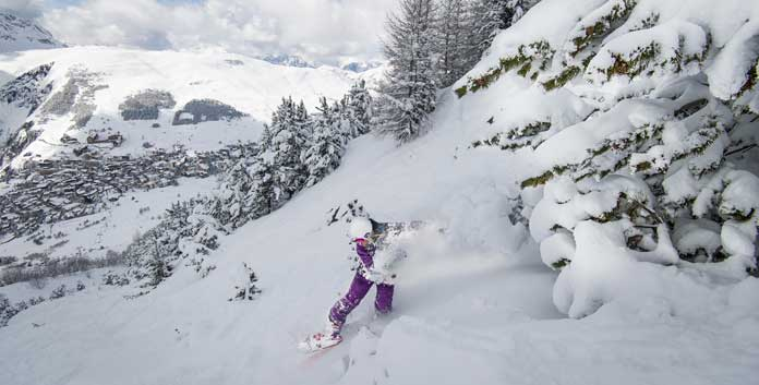 Powderweek Les 2 Alpes © Yoann Peisin/OT Les 2 Alpes