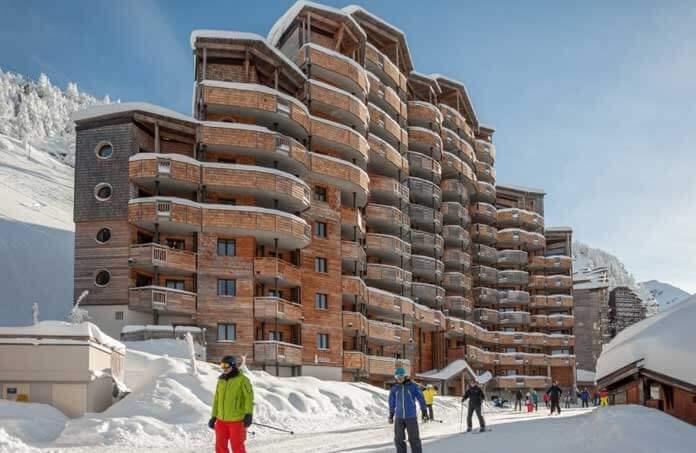 Résidence Atria-Les Crozats: 4 sterren appartementen aan de piste in Avoriaz © Pierre et Vacances