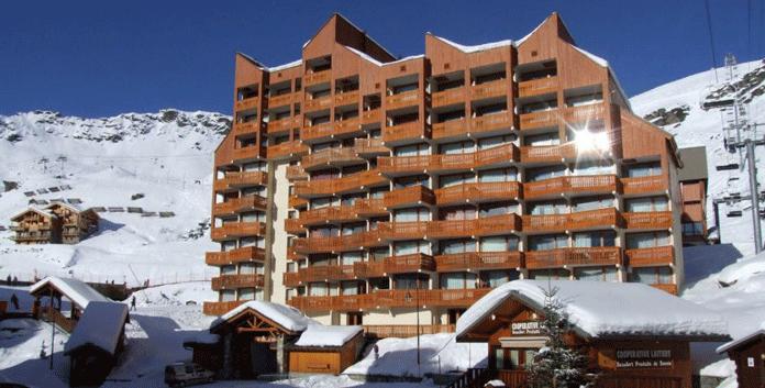 Résidence Le Lac du Lou: 3* appartementen in het centrum van Val Thorens