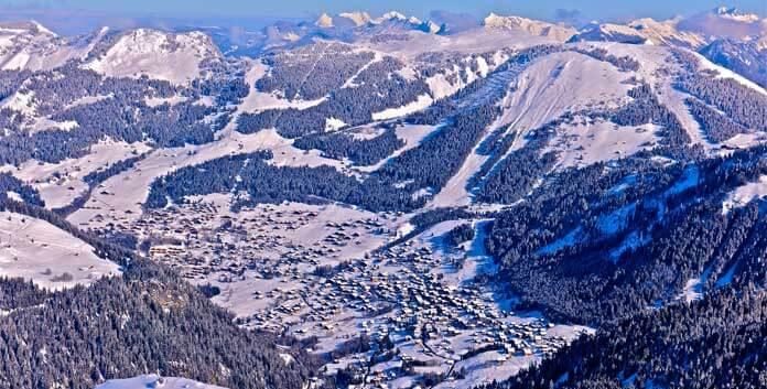 skien in Chatel