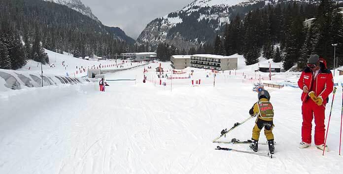 Flaine is een prima bestemming om te gaan skiën met kinderen. © WintersportFrankrijkGids.nl