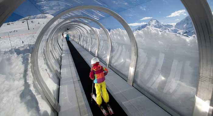 Skiën met kinderen in Les 2 Alpes