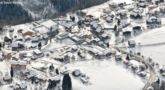 skien in Saint Jean de Sixt