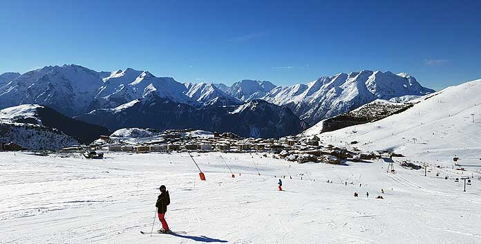 Skigebied Alpe d'Huez Grand Domaine: groot, groter grootst