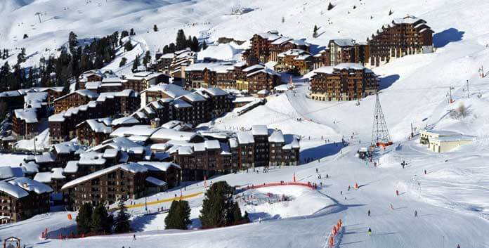 skigebied La Plagne, Belle Plagne © Philippe Royer/La Plagne