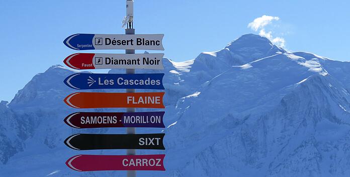 Skigebied Le Grand Massif: groot, afwisselend skigebied in de Haute Savoie