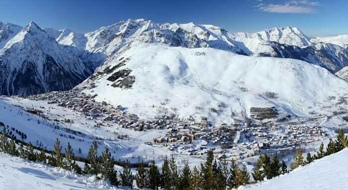 skigebied Les Deux Alpes