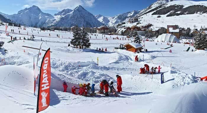 Skiles voor kinderen in Les Deux Alpes
