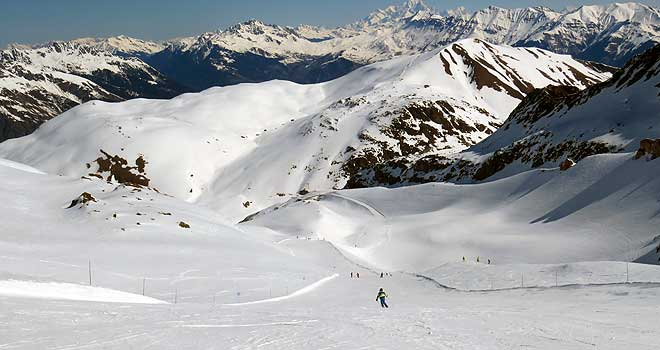 Les Vallons, de mooiste afdaling volgens Alexandre Maulin. © WintersportFrankrijkGids.nl