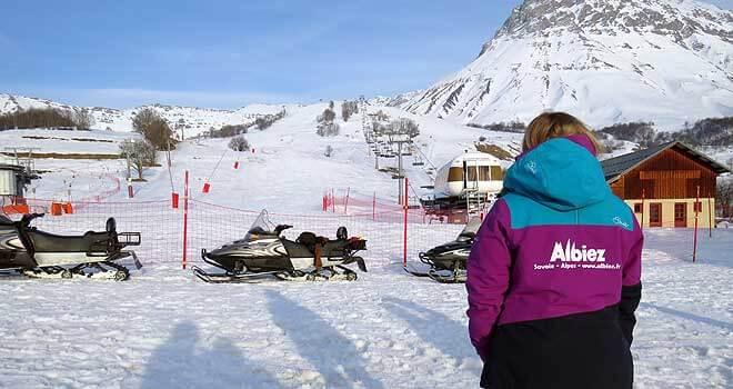 après-ski in Albiez-Montrond