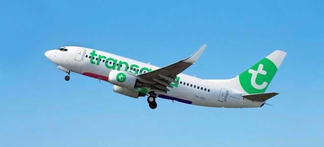 Transavia naar Grenoble
