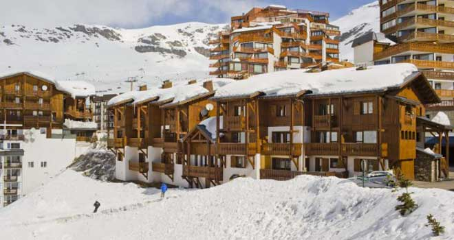 Val Thorens chalet-appartementen Montagnettes Lombarde © Tatin