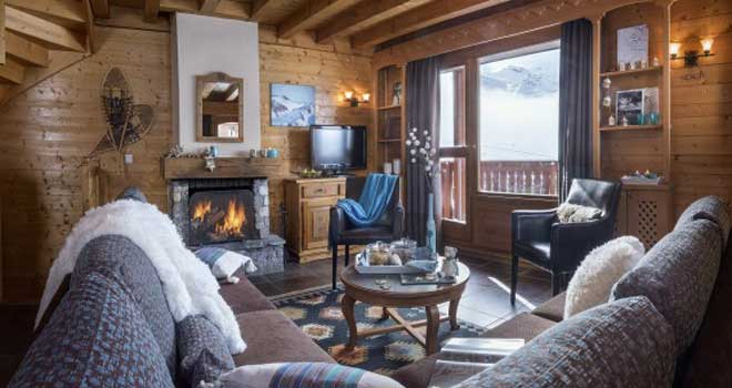 val thorens luxe chalet appartement montagnettes lombarde. Black Bedroom Furniture Sets. Home Design Ideas