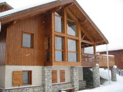 Vallendry chalet Bellecote wintersport 2015 - 2016