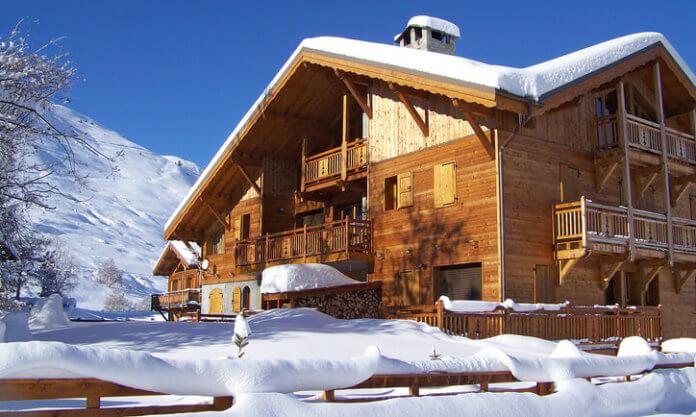 Chalet Dibona: 4* wintersport chalet in Les 2 Alpes vlakbij de piste