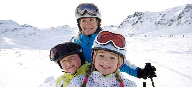 Wintersport Frankrijk familie