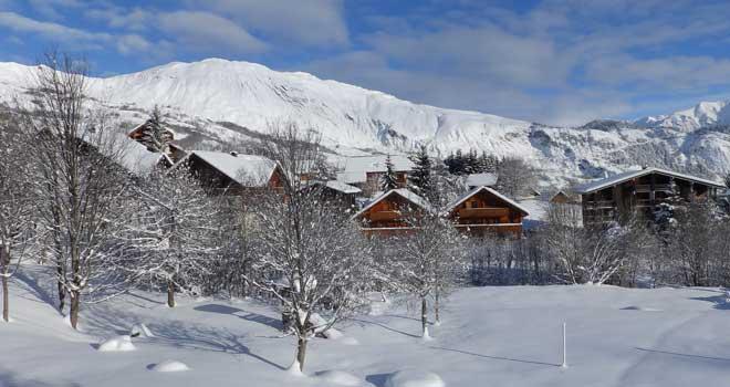 wintersport in Les Bottières
