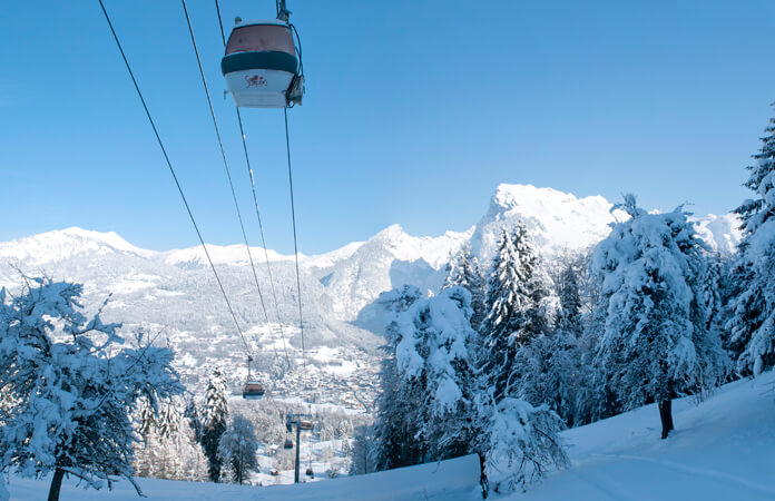 Wintersport in Samoëns: skiën in de hoofdstad van het goede leven
